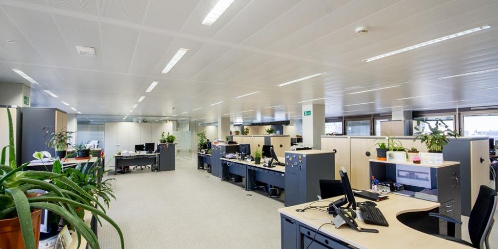 reforma de edificio de oficinas del inss madrid